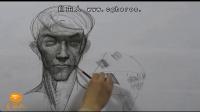 【艺学绘视频教程】 真人模特人体绘制 4