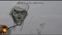 【艺学绘视频教程】真人模特人体绘制 3