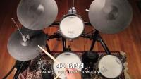 架子鼓基本节奏型演示
