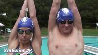 优秀的游泳转身以优秀的姿态开始