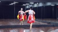 糖豆广场舞课堂《赞歌》蒙古舞 演示和分解动作教学 编舞桃子