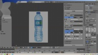 blenderCN-定制入门建模教程-塑料水瓶_01_背景图的使用方法