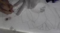 凌达教您画工笔画--出水芙蓉图002