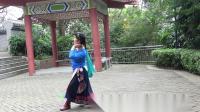 藏舞《神奇的布达拉》金花舞2019原创编舞