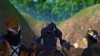 巨兵长城传 014 帅不过三秒,掉入陷阱的豹豹有点惨