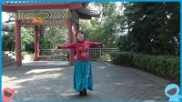 梧州拥军广场舞《丫蛋蛋》金花舞2019年初二拍舞