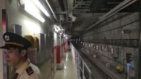 广州地铁9号线冬瓜车09x021-022在高增关门出站折返
