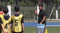 [同步课堂]名师课堂初中体育《足球:跨步拨球过人》教学视频,李功实录