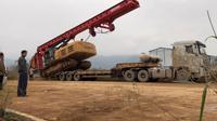 三一360E旋挖钻机上板车托车
