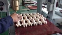 玩具兔子尾巴点胶测试视频