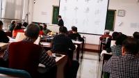 银川老年大马老师书法教学:竖在行书的技巧(张建民班长录制,三楼管理组编)