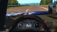【优酷小宝】 欧洲卡车模拟2  (奔驰SLS  AMG  GT 7速 本人最爱)