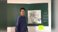 老年大马江波老师写意山水画教学(卢晓冬录制制作)
