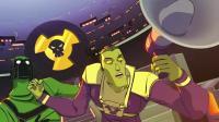 《炽热熔岩》全球行动队动画