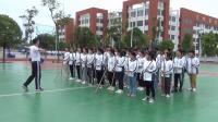 [同步课堂]中学体育与健康教育教学比赛《双人棍棒操 竹竿舞》教学视频实录