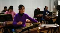 金老师指导古筝高二班:渔舟唱晚(汤爱梅录,赵银霞班长制作)