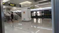 南宁地铁三号线开往科园大道方向金湖广场站——东葛路站