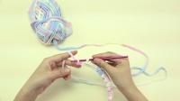 妍色手作----手工编织泫雅同款小香风包包小红书泫雅同款包钩针包新手视频教程