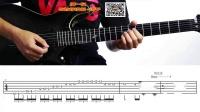 8.无泪的遗憾(间奏)电吉他独奏 演奏视频讲解教学前奏间奏尾奏