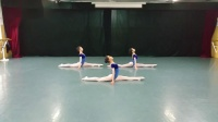 少儿舞蹈技巧专业舞蹈教材舞蹈教学视频分享之肘撑前软翻00