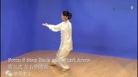 新版24式太极拳全套背面示范(吴阿敏)