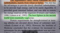 角斗士饮食 - 素食运动员如何健身