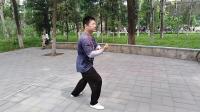 黄毓鹏演练传统杨氏大架太极拳<上>