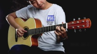 OTIS 奥司民谣吉他 CYS-40-1 指弹演奏吉他教学视频分享