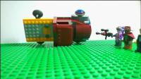 【乐高定格动画】《破灭计划》第三集 袭击 帝风视频空间