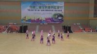 华阳镇新北社区舞蹈队   锦扇飞舞   比赛获二等奖视频