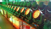 健身房灯光秀 19颗LED摇头灯