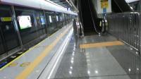 深圳地铁5号线葡萄三世出赤湾站