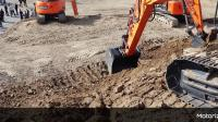 2019年斗山挖掘机DX300LC-7在采矿场展示会