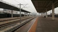 HXD3C0258牵引K8222次列车(汉中-安康)汉中出站