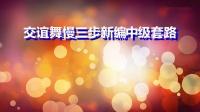 交谊舞慢三步中级新编套路教学视频(附慢速视频播放)郭英等老师_超清