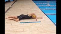 游泳教学,陆地移臂练习,鲜有人知的教学方法,真有帮助!_好看视频
