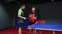 乒乓球步法(左手版)