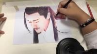 【林雨申】手绘19版杨逍(丿乐兮的微博视频 )