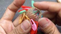 【回眸工坊巴洛克珍珠绕线课程】4-巴洛克珍珠钩织包吊坠