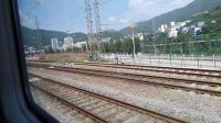 20190723 152632 K390次列车通过朝天南站(现Z390次)