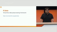 Scaling Tensorflow data processing with tf.data (T