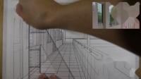 平行透视的走廊 下