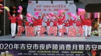 4双扇舞 阿哥阿妹跳起来 泰和长寿健身队庐陵一日游表演2020.5.31