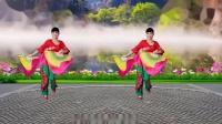 双扇舞 妹妹山丹花 泰和长寿健身队教学用