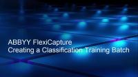 ABBYY FlexiCapture - 创建分类训练批处理文件夹