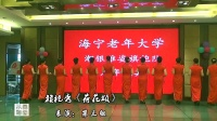 海宁老年大学潮银雅姿旗袍队周年庆典联欢会.旗袍秀《荷花颂》
