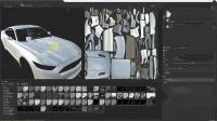 C4D头文字D赛车票车镜头动画场景制作渲染 03