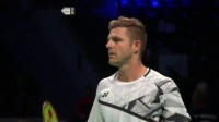 2020.10.15 R16 西本拳太 vs 利弗德斯 - 2020丹麦羽毛球公开赛