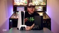 PS5主机开箱 和XSX的对比