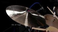 海平HPA系列吊镲Crash16寸/重音镲/碎音镲/强音镲/节奏镲/手工镲/武汉海平镲片/架子鼓爵士鼓演奏